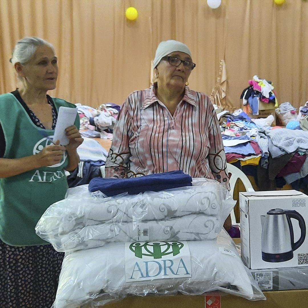 станица Пятигорская, Горячий Ключ. Помощь пострадавшим от наводнения